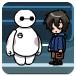 Hiro and Baymax lab adventure