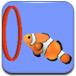 热带鱼游动表演